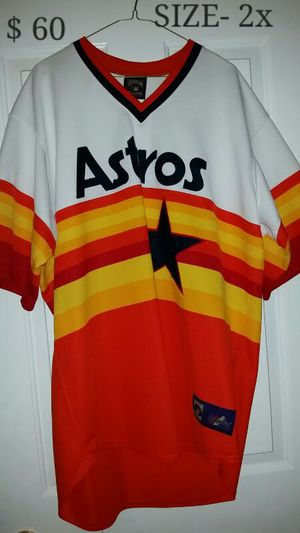 Throw back Astros jersey for Sale in Austin, TX