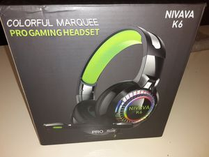 Nivana gaming headset for Sale in Lakeside, CA