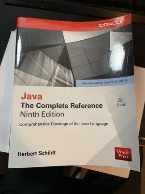 Java the complete reference for Sale in Harrisonburg, VA