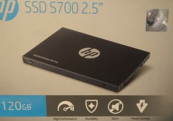 HP 2.5 inch S700 Series 120 GB Solid State Drive SSD Sata III for Sale in Mesa,  AZ