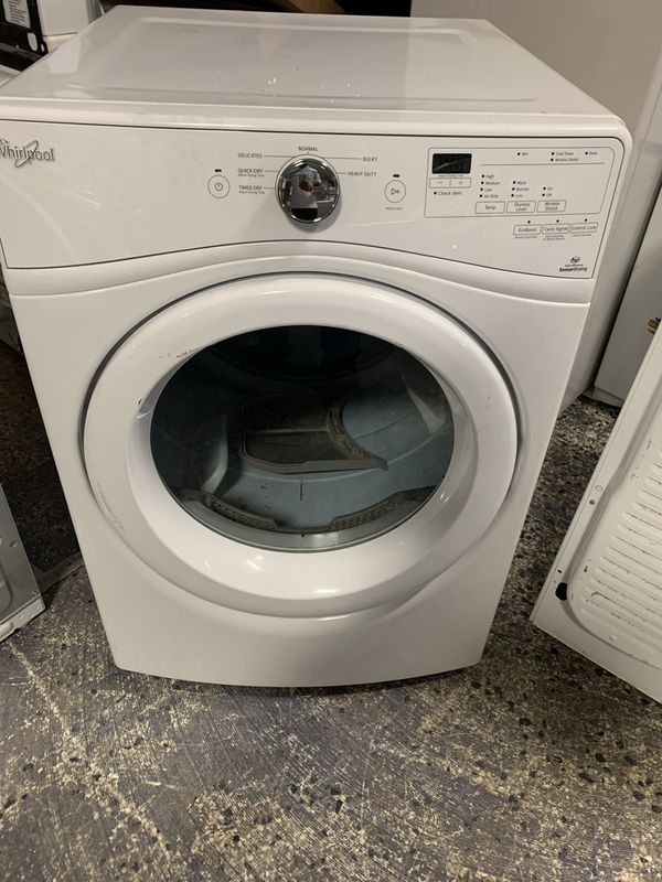"""27"""" Whirlpool stack able dryer electric with warranty"""