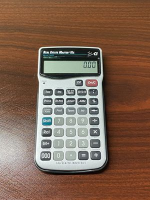 Real Estate Master Calculator professional Calculator for Sale in Los Angeles, CA