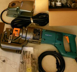 Hougen-Ogura 75004PR Hole Punch with Box of Bits for Sale in Burlington, NC