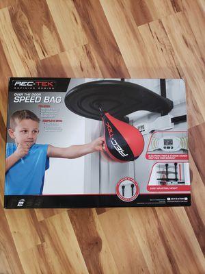 Rek Tek over the door speed bag for Sale in Windsor, CT