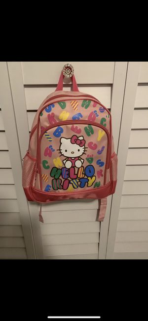 Sanrio Hello Kitty Toddler Pink Alphabet print Backpack for Sale in Long Beach, CA