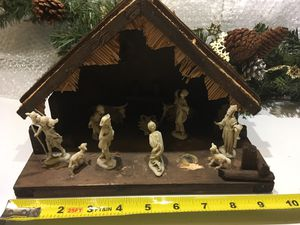 Vintage Christmas nativity for Sale in Seattle, WA