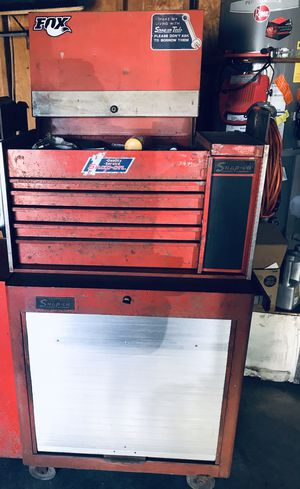 Snap On tool chest with top and bottom box for Sale in Bakersfield, CA