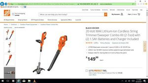 Cordless trimmer for Sale in Gresham, OR
