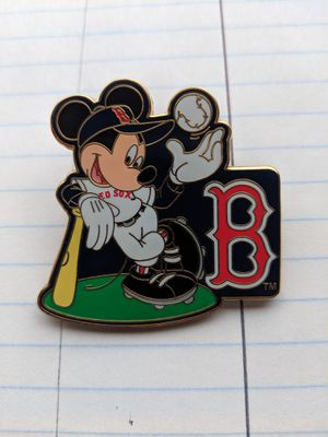 Boston Red Sox Mickey Mouse Pin for Sale in Spanaway, WA