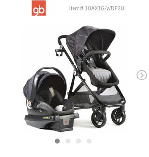 GB Baby car seat sets 4 in 1 for Sale in Worcester, MA