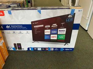 "NEW TCL 4K 55"" SMART TV 203Q for Sale in Austin, TX"