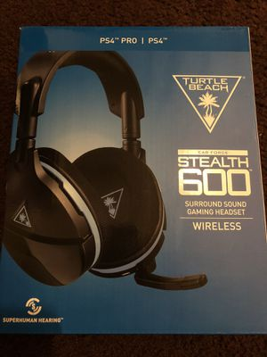Turtle beach stealth 600 headset for Sale in Pomona, CA