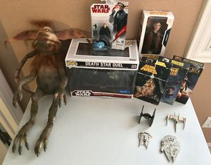 Star Wars Lot - Vintage Collection Toy Figure Die-Cast Plush Funko Pop VHS for Sale in Montebello, CA