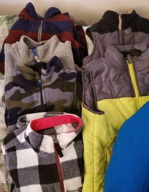 Fall/Winter Fleece Jackets & PJs and Vests Boys 4-6 for Sale in Philadelphia, PA