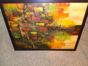 Framed art, abstract for Sale in Austin, TX