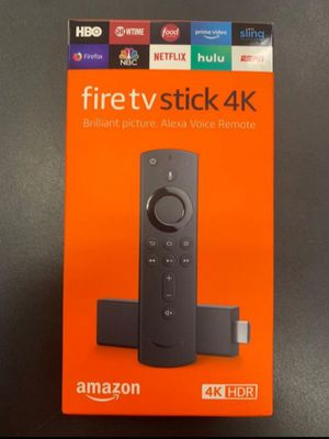 """AMAZON 4K FIRE TV STICK """"UPGRADED """" AND ETHERNET ADAPTER WITH 3 USB PORTS for Sale in Fresno, CA"""