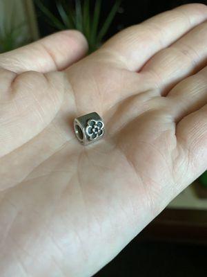 Authentic Pandora Sterling Silver Flower Charm for Sale in Phoenix, AZ