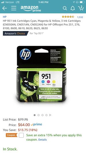Hp color print for Sale in Hyattsville, MD