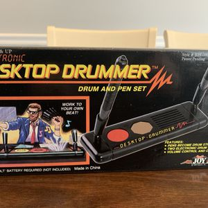 1990 Electronic Desktop Drummer Drum and Pen Set NEW! for Sale in Raleigh, NC