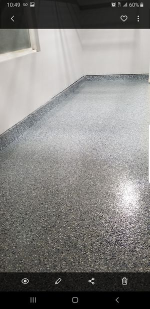 Epoxy flakes system for garage or other areas for Sale in San Diego, CA