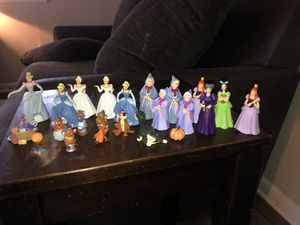 Disney's Cinderella figures for Sale in Raleigh, NC