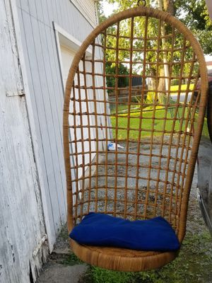 Wicker Porch Swing Basket for Sale in Donora, PA
