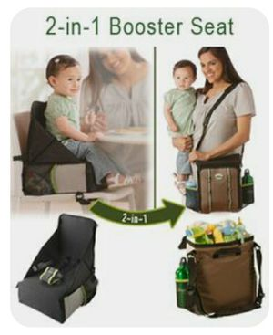 Jee p® Travel Anywhere 2-in-1 Sport Booster Seat and Everyday Bag Travel Booster Seat for Sale in San Jose, CA