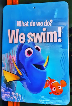 "Vintage shrink wrapped FINDING NEMO Disney movie cardboard wall hanging 12.5"" x 8.5"" for Sale in Saginaw, MI"