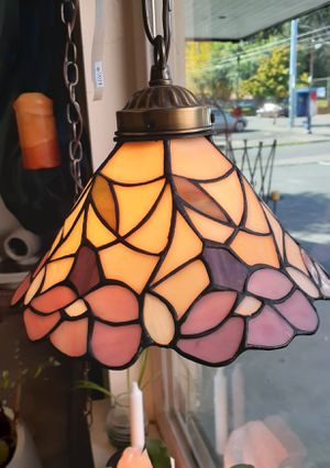 Stained glass lamp for Sale in Portland, OR