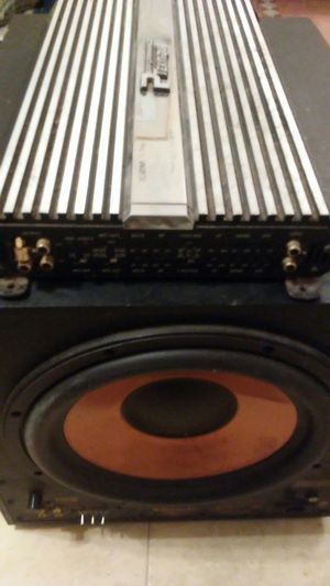 Sound System Equip. Speakers Amps Subwoofer for Sale in Stonington, CT