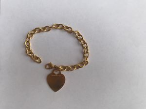 18k yellow gold Tiffany & Co heart bracelet for Sale in Dade City, FL