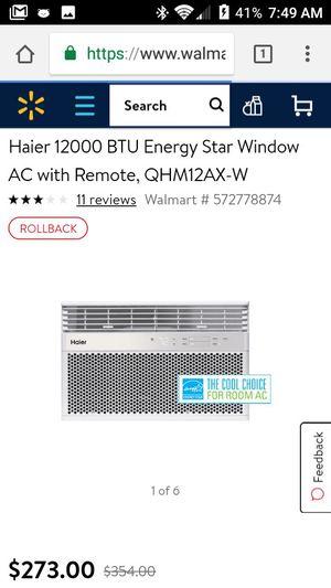 Hier air-conditioner for Sale in Wichita, KS
