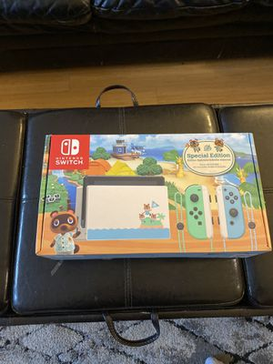 NEW Nintendo Switch Animal Limited Crossing Edition Console for Sale in Brooklyn, NY