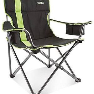 New Beach Camp Chair Green Black With A Drink Dolder for Sale in Torrance, CA