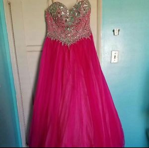 Pink Sequin Prom Dress for Sale in Los Angeles, CA