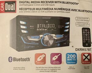 Car Dual Bluetooth Stereo for Car for Sale in Montclair, VA