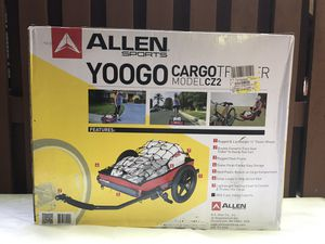 Brand New/Unopened: Allen Sports Deluxe Bicycle/Bike Cargo Trailer and Pull Cart Carrier for Sale in Wheaton, MD