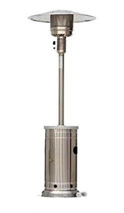 BRAND NEW 48000-BTU Stainless Steel Patio Heaters With Wheels for Sale in Walnut,  CA