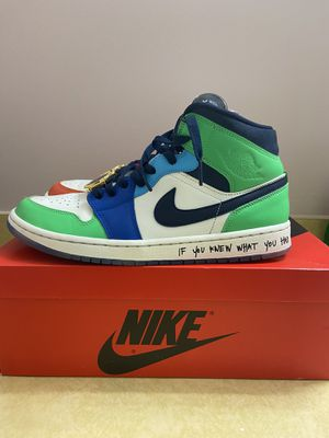 Air Jordan 1 Mid SE Fearless Melody Ehsani size 11.5W (10M) for Sale in Rockville, MD