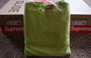 Supreme cutout logo crewneck for Sale in Sterling Heights, MI