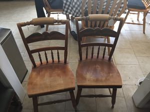 Vintage Hitchcock Eagle back Inn Chairs for Sale in Willow Spring, NC
