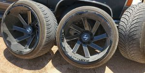 Arkon 24x14 with 305/35r24 for Sale in Odessa, TX