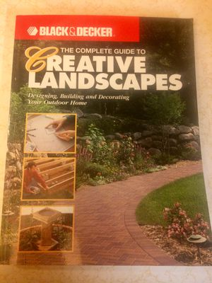 Black & Decker Complete Guide to Creative Landscaping for Sale in Westphalia, MO