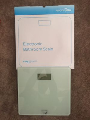 Real appeal bathroom scale for Sale in Riverside, CA