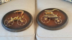 Like new Decorative wall hanging metal pieces for Sale in Harrisonburg, VA