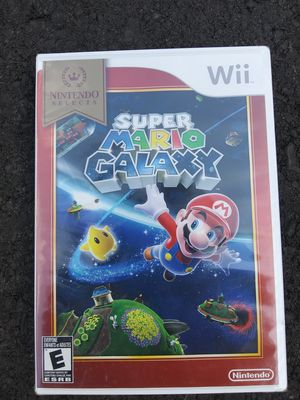 Wii game new sealed Super mario Galaxy for Sale in Lake Stevens, WA