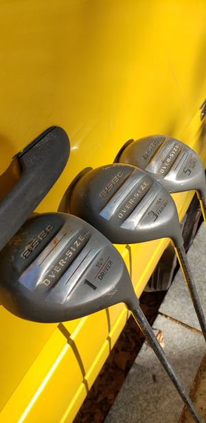 Driver, 3 and 5 Woods - Golf Clubs for Sale in Washington, DC