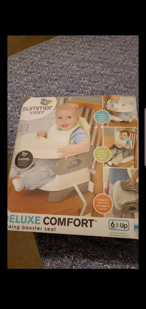 Booster seat high chair NEW SEALED BOX! for Sale in Atwater, CA