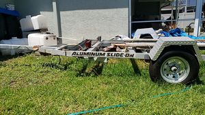 Aluminum trailer Holds up to 16' boat. for Sale in New Port Richey, FL