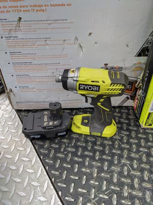 1/4 Hex Ryobi Impact Drill/Driver With 18v Battery and Charger!! for Sale in Bloomington, CA
